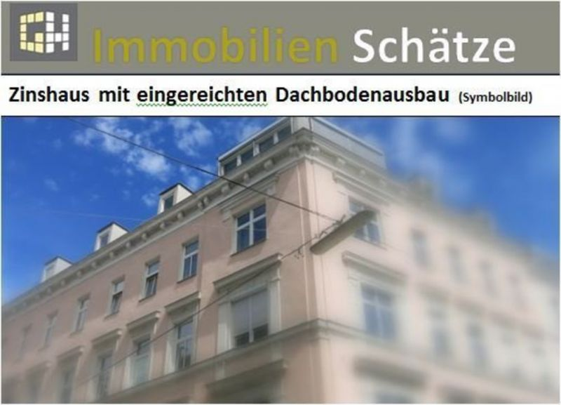 Gründerzeit Zinshaus mit eingereichten Dachboden Ausbau