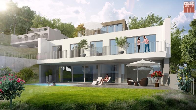 DIE NATUR ALS NACHBAR - Neubau-Villa mit Pool am Stadtrand Wiens /  / 2371Hinterbrühl / Bild 0