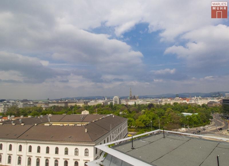 VOM STADTPARK BIS ZUM STEFFL: Exklusive Dachgeschosswohnung mit einzigartigem Blick /  / 1030Wien / Bild 2