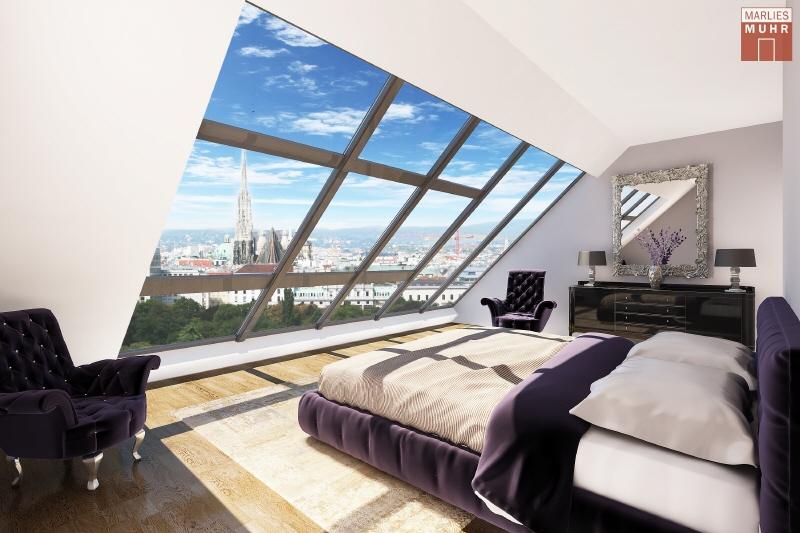 VOM STADTPARK BIS ZUM STEFFL: Exklusive Dachgeschosswohnung mit einzigartigem Blick /  / 1030Wien / Bild 0