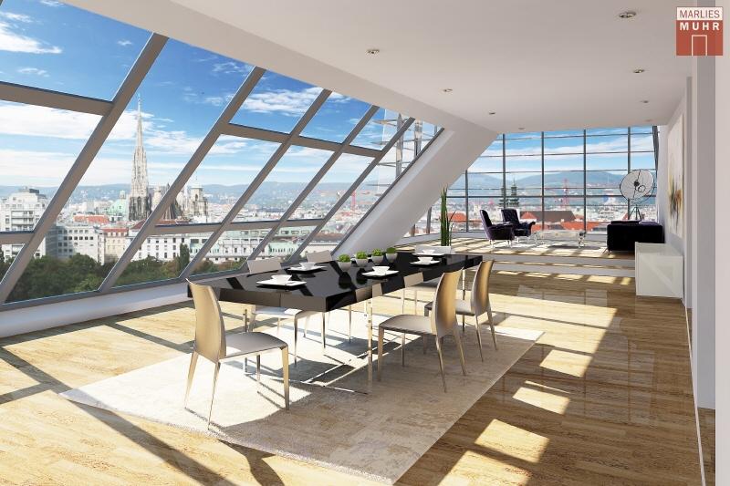 URBAN UND TROTZDEM RUHIG: Dachterrassenwohnung der Extraklasse nähe Wien Mitte /  / 1030Wien / Bild 0