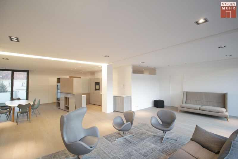 Loftartige Designer-Wohnung nähe Friedensbrücke!