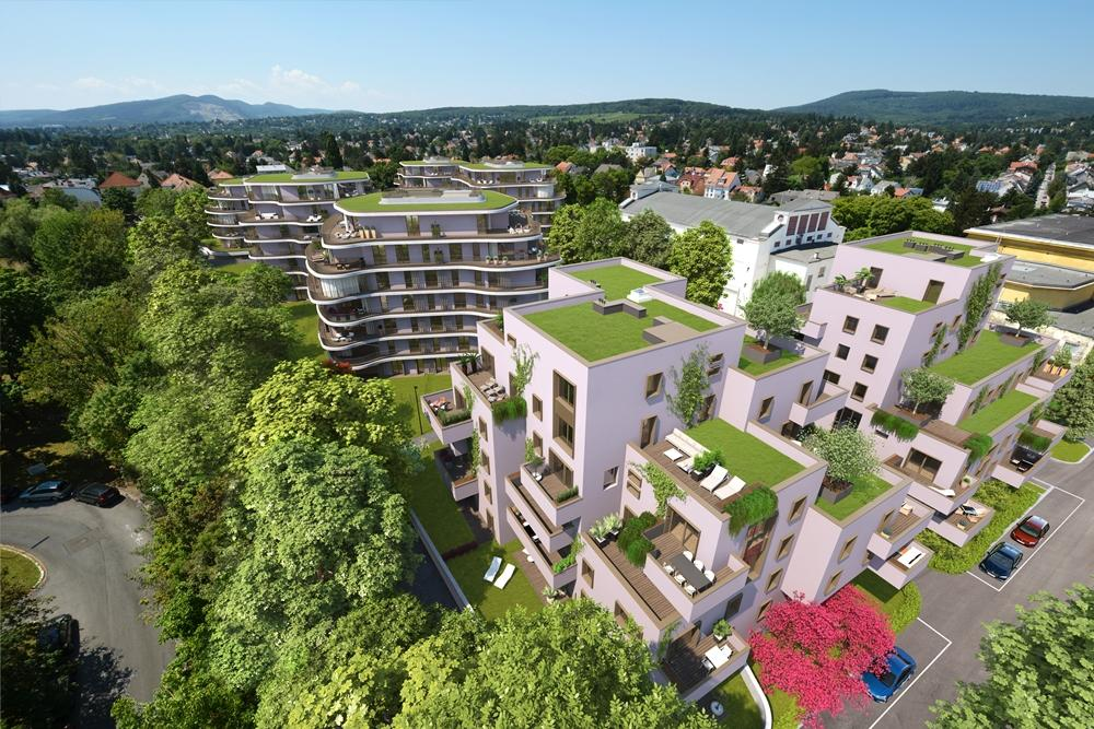 """""""Der Rosenhügel"""" Provisionsfreie 2-Zimmer-Eigentumswohnung mit ca. 110.56 m² Garten (Erstbezug!) /  / 1230Wien / Bild 3"""