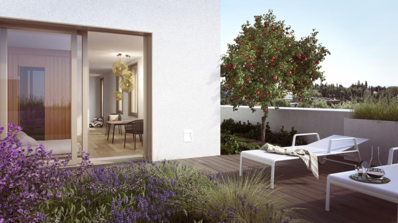 """""""Der Rosenhügel"""" Provisionsfreie 2-Zimmer-Eigentumswohnung mit ca. 110.56 m² Garten (Erstbezug!) /  / 1230Wien / Bild 5"""