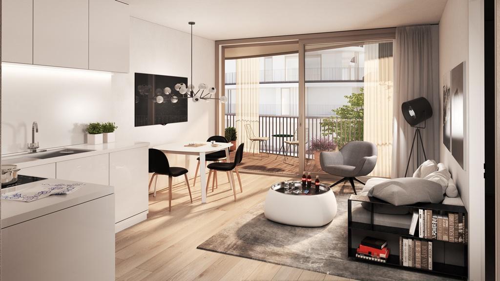 """""""Der Rosenhügel"""" - Provisionsfreier 3-Zimmer-Eigentumswohnung mit ca. 31.29 m² großem Balkon (Neubau!) /  / 1230Wien / Bild 6"""