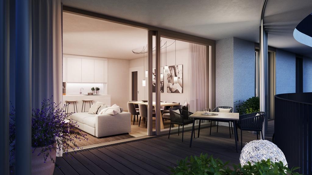 """""""Der Rosenhügel"""" - Provisionsfreier 3-Zimmer-Eigentumswohnung mit ca. 31.29 m² großem Balkon (Neubau!) /  / 1230Wien / Bild 7"""