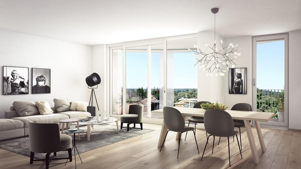 """""""Der Rosenhügel"""" - Provisionsfreier 3-Zimmer-Eigentumswohnung mit ca. 31.29 m² großem Balkon (Neubau!) /  / 1230Wien / Bild 8"""