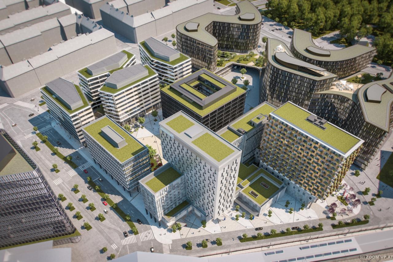 """Provisionsfreie 2-Zimmer-Wohnung mit Loggia im """"Quartier Belvedere Central"""" /  / 1100Wien / Bild 4"""