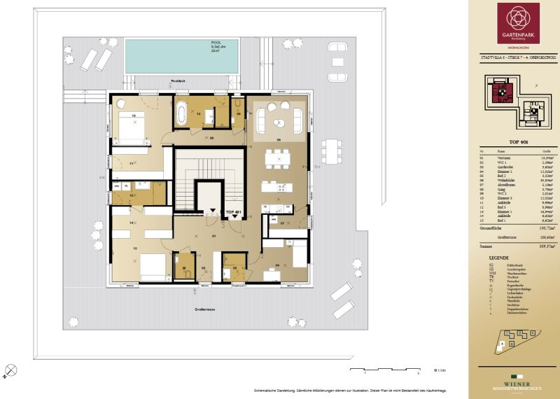 Terrassentraum im eigenen Penthouse in Korneuburg - Provisionsfrei /  / 2100Korneuburg / Bild 1
