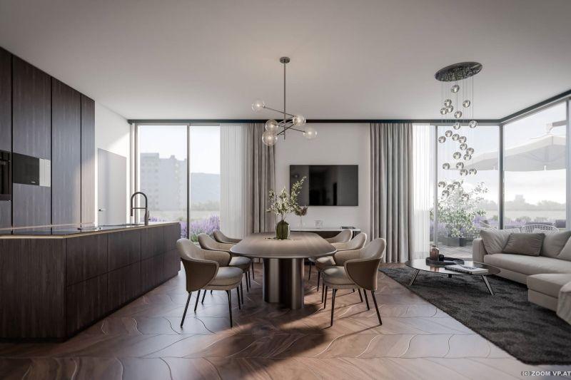 Terrassentraum im eigenen Penthouse in Korneuburg - Provisionsfrei