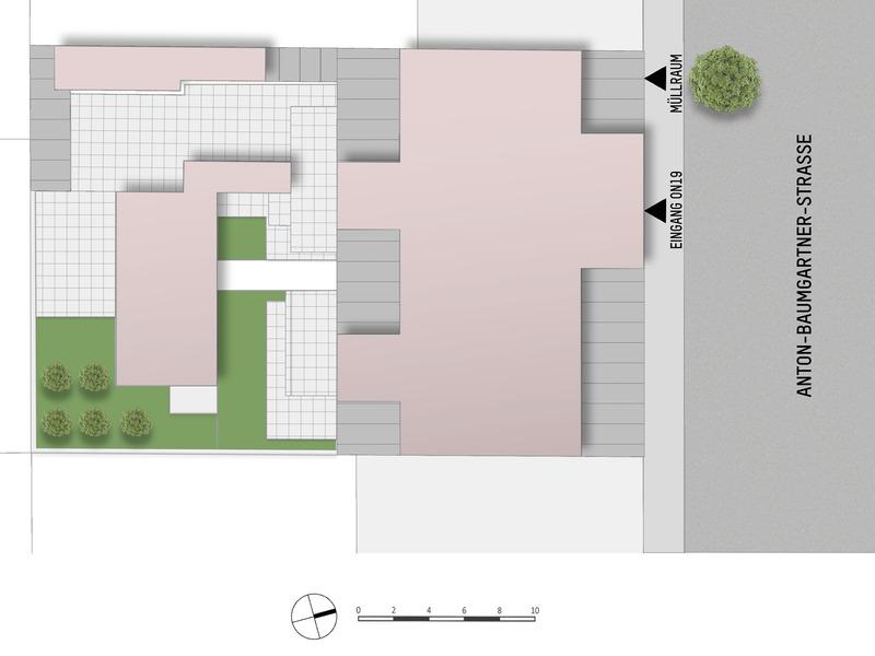 1230, Anton-Baumgartner-Straße, In Inzersdorf nahe U6 und Lokalbahn, 3-Zimmer-Penthouse /  / 1230Wien / Bild 4