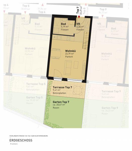 Kierlinger Straße 124-126 - Top 07 - 1,5 Zimmer /  / 3400Klosterneuburg / Bild 5