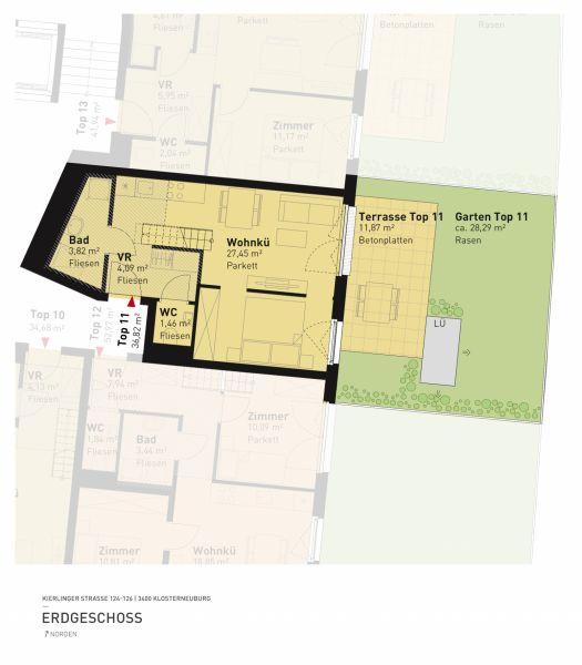 Kierlinger Straße 124-126 - Top 11 - 1,5 Zimmer /  / 3400Klosterneuburg / Bild 5