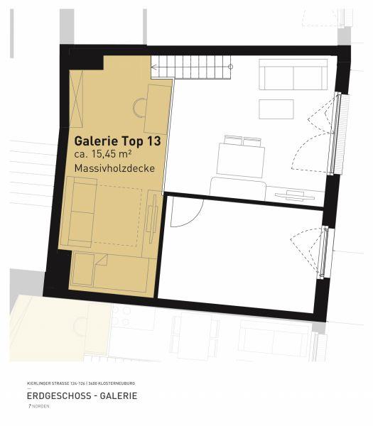 Kierlinger Straße 124-126 - Top 13 - 2,5 Zimmer /  / 3400Klosterneuburg / Bild 6