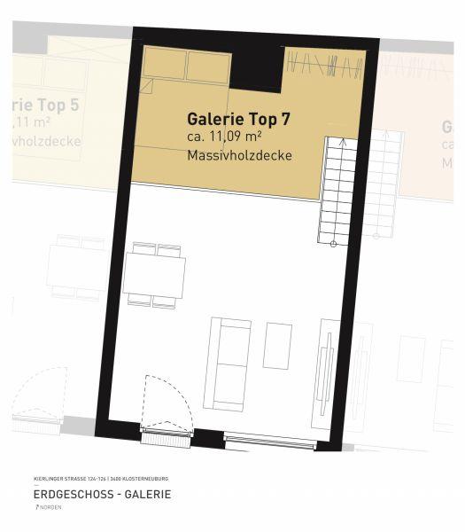 Kierlinger Straße 124-126 - Top 07 - 1,5 Zimmer /  / 3400Klosterneuburg / Bild 6
