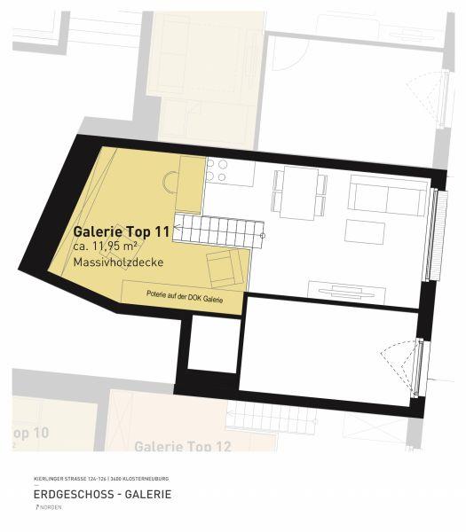 Kierlinger Straße 124-126 - Top 11 - 1,5 Zimmer /  / 3400Klosterneuburg / Bild 6