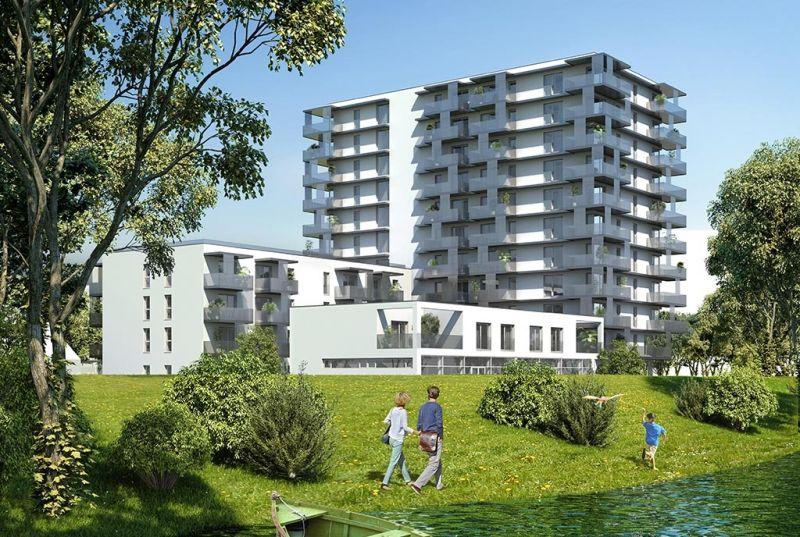 Erstbezug 2-Zimmer-Wohnung inkl Komplettküche, Balkon und Kellerabteil bei Badeteich Hirschstetten/Z6 OG1 /  / 1220Wien / Bild 1