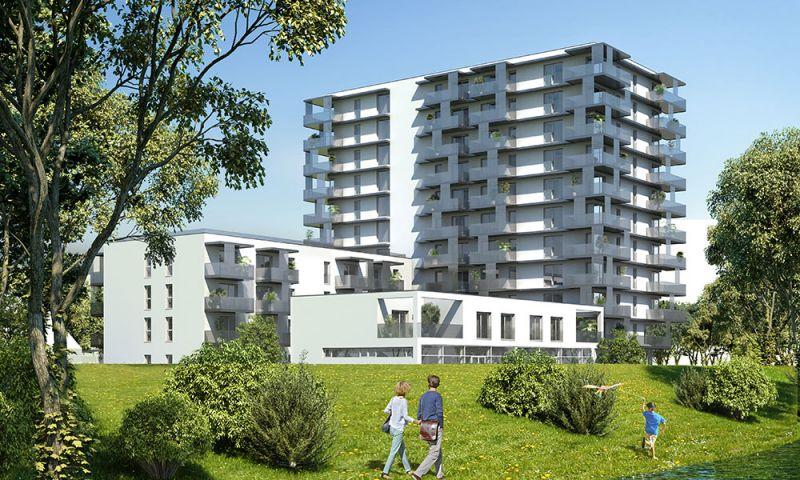 Erstbezug Neubau - große 2-Zimmer-Wohnung inkl Küche, 9,28m² Balkon und Kellerabteil - Garagenplatz verfügbar/Z102 OG10 /  / 1220Wien / Bild 0