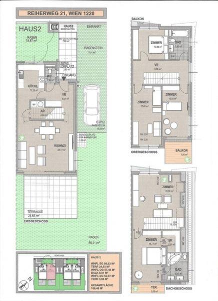 Doppelhäuser nähe Mühlwasser und Donau - Erstbezug /  / 1220Wien / Bild 9